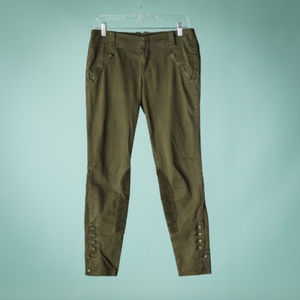 Anthro Daughters of the Liberation 27 Green Pants